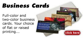 Customized Business Cards - Print Your Own Business Cards