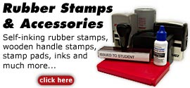 Order Rubber Stamps - Self Inking Stamps
